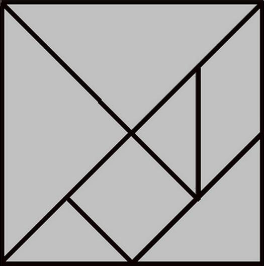 tangram ein legespiel. Black Bedroom Furniture Sets. Home Design Ideas