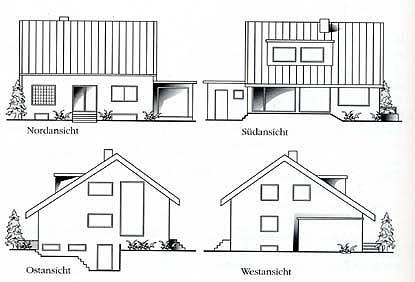 Seitenansicht Eines Hauses