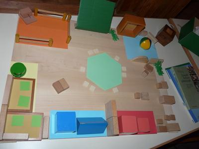 Vorbereitete umgebung for Raumgestaltung montessori