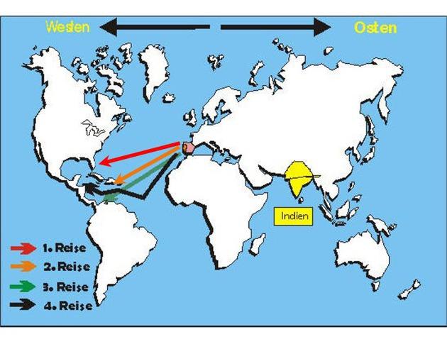 Berühmt Die Reisen des Christoph Kolumbus #OW_35